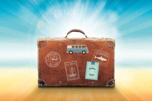 Pages vitrines d'une agence de voyage en ligne